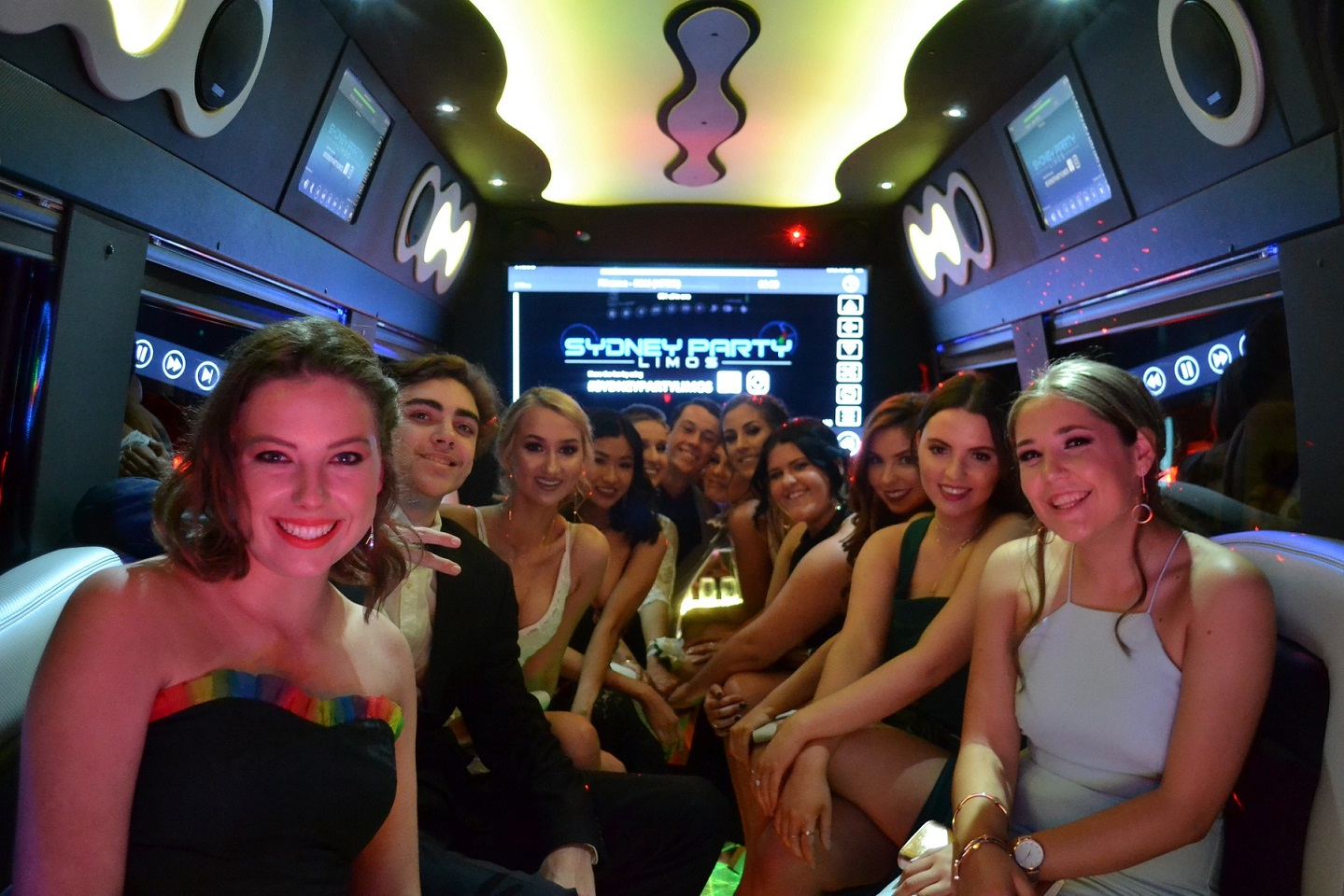 School Formal Party Limo Hire