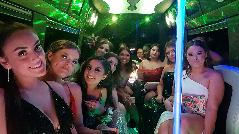 party bus school formal in Sydney
